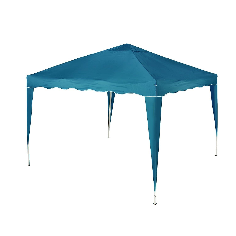 Vanage VG-9238 Pavillon Aluminium-Faltpavillon Stella inklusive 0 Seitenteilen, blau günstig