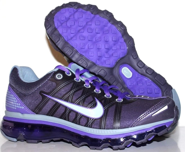 Nike Air Max 2009 womens Running Shoe White Purple Fashion .