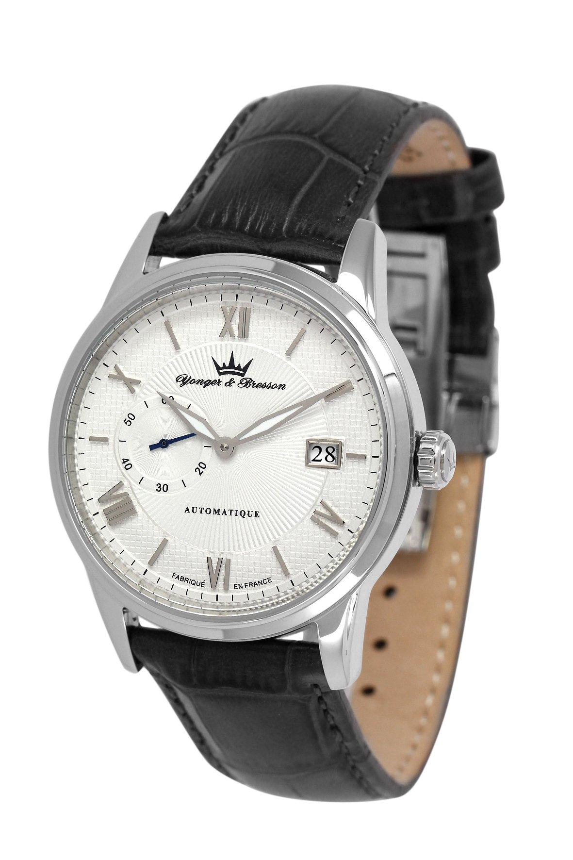 [ヨンガー&ブレッソン]Yonger&Bresson 腕時計 ボアサック Boissac YBH8360-02  自動巻 ユニ○○○○ [正規輸入品]