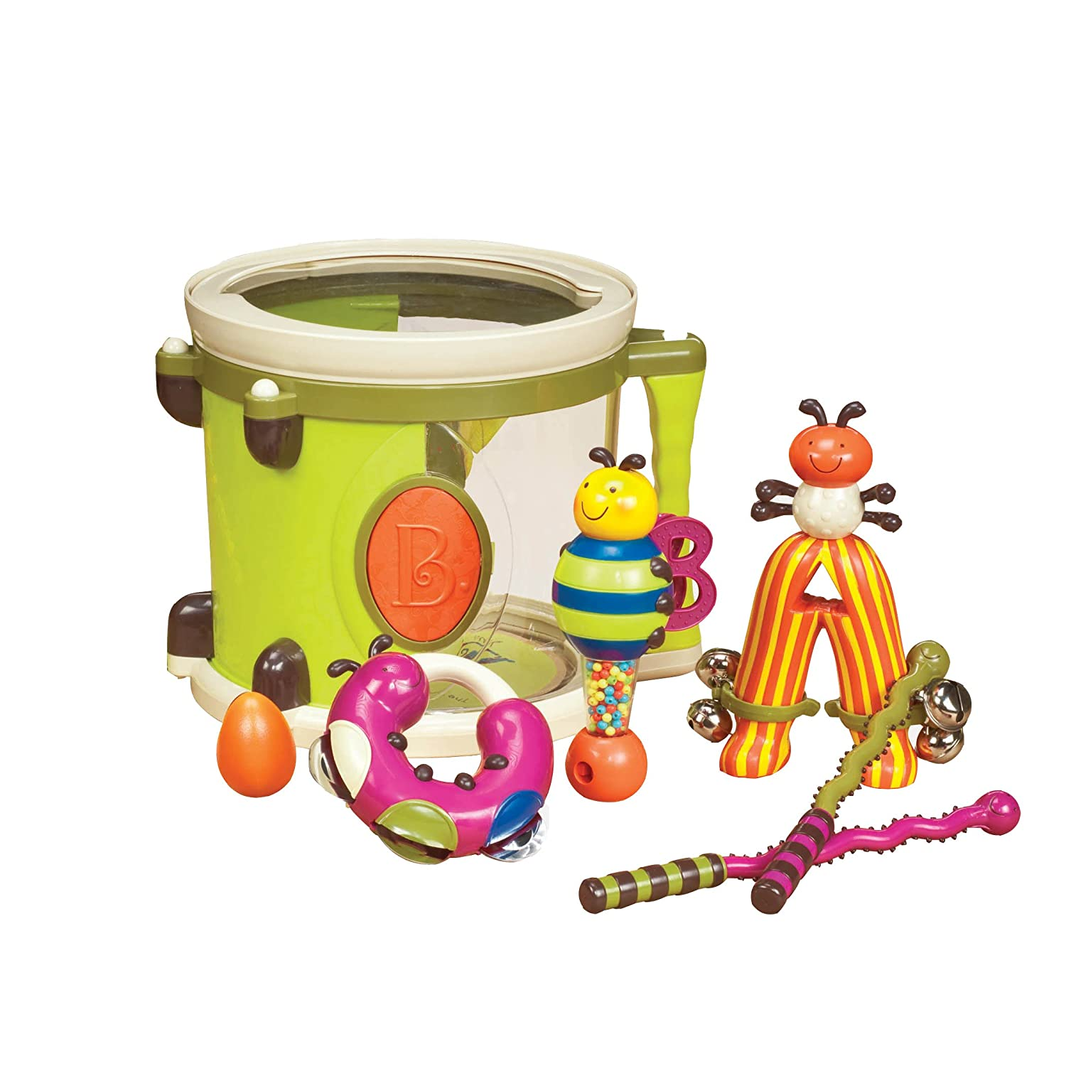 My first drum set for babies and toddlers