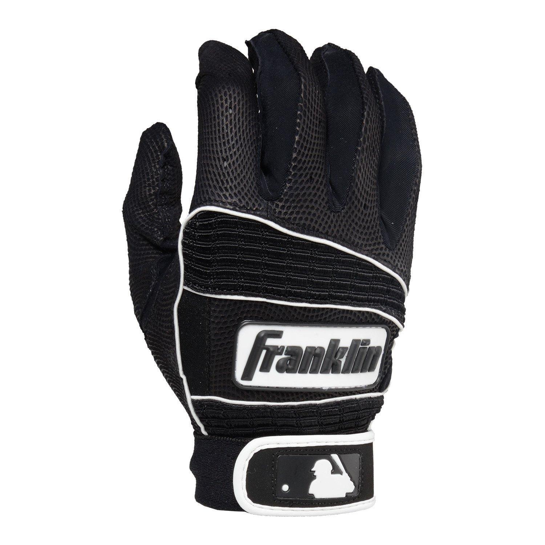Black leather batting gloves - Franklin Sports Neo Classic Series Batting Gloves