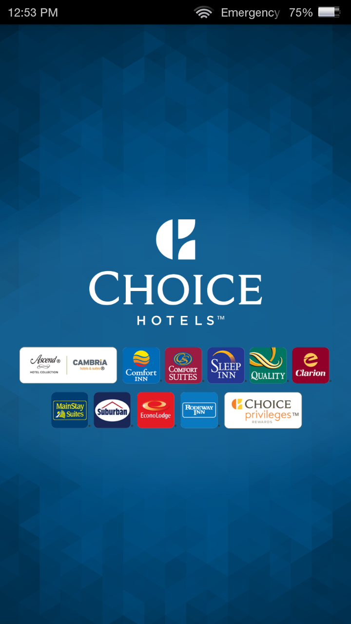 Choice hotels book now appstore for android for Choice hotels