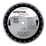 Evolution Power Tools 14BLADEDM 14-Inch Diamond Masonry Blade with 1-Inch Arbor (Color: Gray|Grey, Tamaño: 14 Inch)