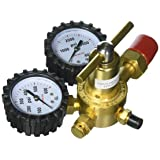 Uniweld RHP400 Nitrogen Regulator with 0-400 PSI Delivery Pressure, CGA580 Inlet Connection and 1/4-Inch Male Flare Outlet Connection (Tamaño: 2