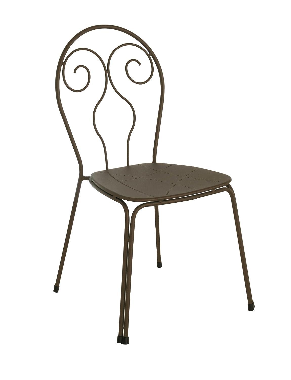 Emu 309304100 Caprera Stuhl 930, pulverbeschichteter Stahl, 4-er Set, braun jetzt bestellen