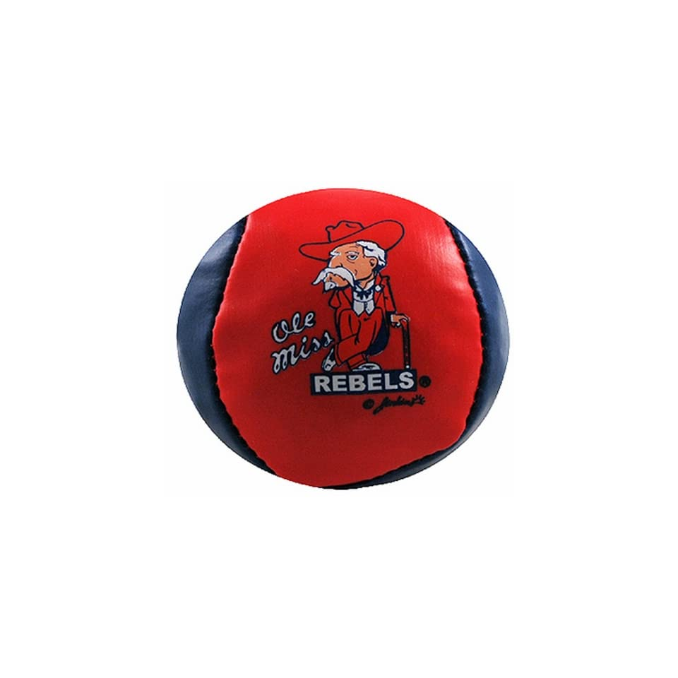 NCAA Ole Miss Rebels Hacky Sack Ball Colonel