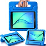 AVAWO Kids Case for Samsung Galaxy Tab A 8.0 2015 SM-T350 - AVAWO Light Weight Shock Proof Convertible Handle Stand Kids Friendly for Samsung Tab A 8-Inch SM-T350 Tablet, Blue (Color: Blue, Tamaño: Tab A 8.0 SM-T350 Kiddie Handle Case)