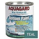 Aquagard - Waterbased Anti-Fouling Bottom Paint - 1Qt - Teal (Color: Teal, Tamaño: 1qt)