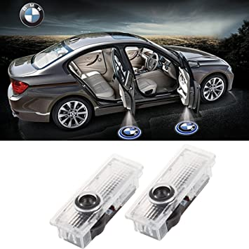 Spevert 1 Pair BMW Car Door Light Led HD Welcome Laser Projector Logo Ghost Shadow Light for BMW Series 3 5 6 7 Z GT