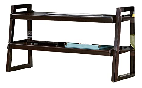 "HOMELEGANCE 8004-T Wooden TV Stand, 54"", Brown"