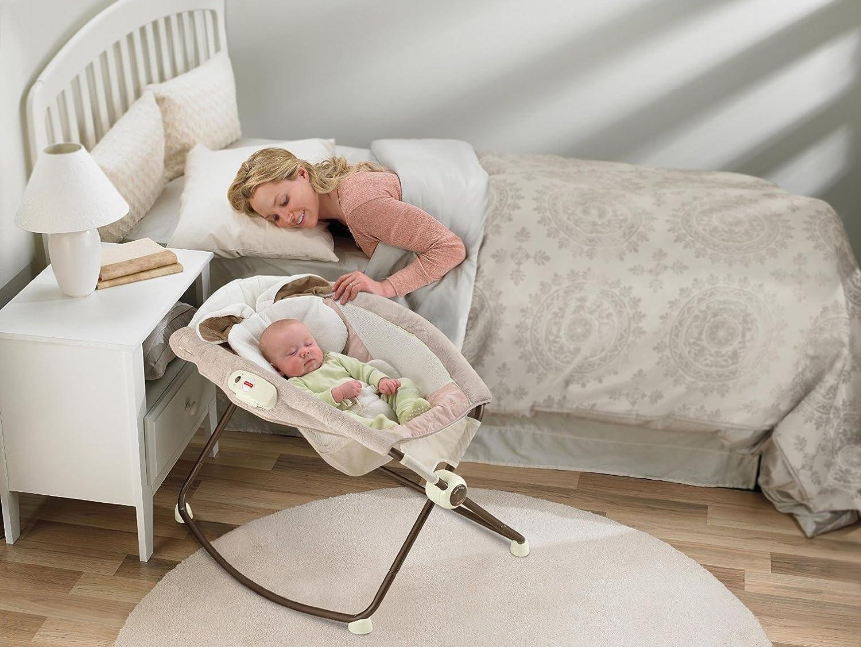 Newborn Bassinet Rocking Vibrating Incline Crib Nap