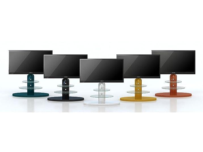 Maja 16369956 TV 1,315 x 1100 x 470 mm, colore: bianco/vetro trasparente