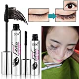 96eef9b4ef3 ZDU 4D Mascara with Fiber Sets Makeup Lash Cold Waterproof Mascara Eye  Black Eyelash Extension crazy