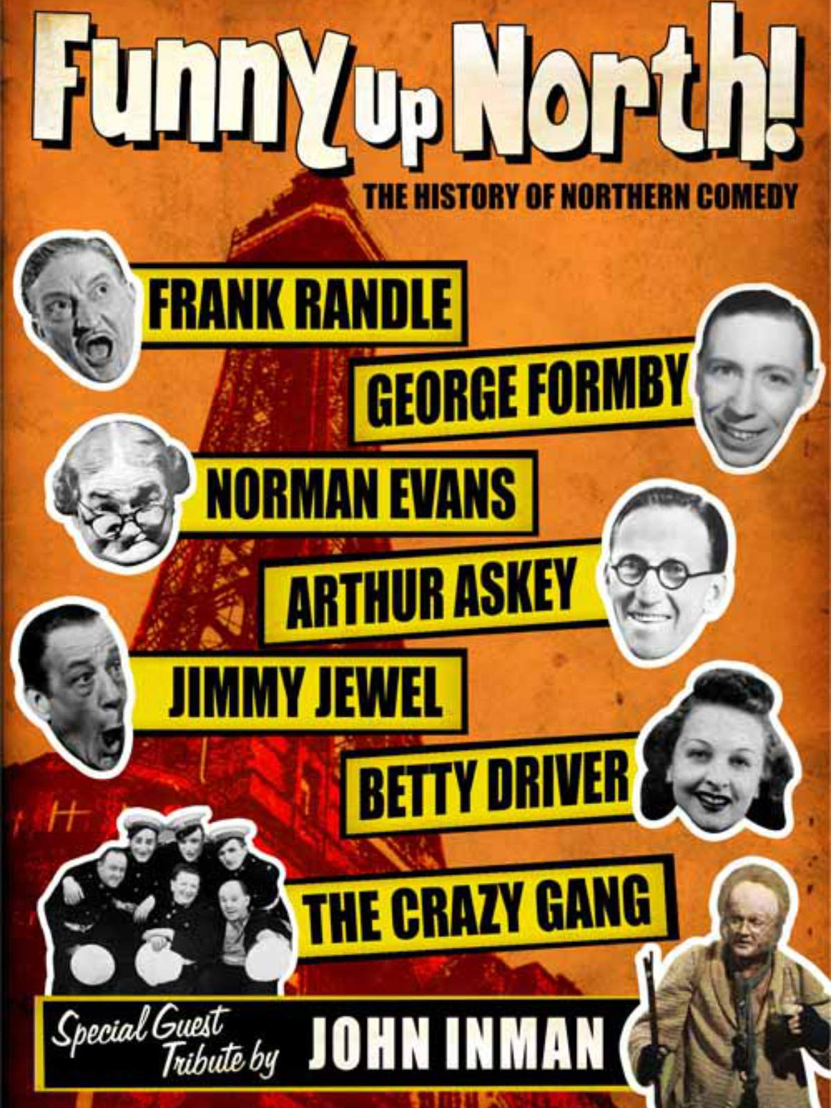 Watch 'Funny Up North' on Amazon Prime Video UK