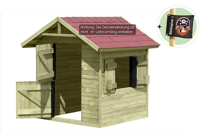 Spielhaus Emily aus Holz Gartenhaus für Kinder von Gartenpirat® günstig kaufen
