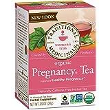 Traditional Medicinals Organic Pregnancy Tea Women's Tea, 16 Tea Bags (Pack of 6)