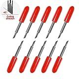45 Degree Cutting Blades Tungsten Steel Replacement Cutting Blades for Roland Cutting Plotter (Tamaño: 45°)