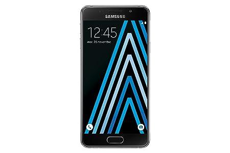 Pack Samsung Galaxy A3 Smartphone débloqué 4G (Ecran: 4,7 pouces - 16 Go - Simple Nano-SIM - Android 5.1 Lollipop) Noir + Drone Polaroid Black Bird Drone radiocommandé avec Caméra HD