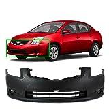MBI AUTO Primered, Front Bumper Cover Fascia for 2010 2011 2012 Nissan Sentra 10 11 12, NI1000271 (Color: Primer)