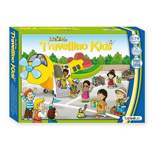 Beleduc - 22703 - Jeu De Société Éducatif - Travellino Kids