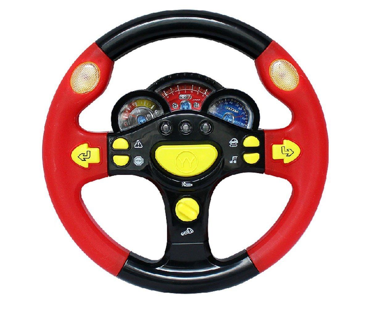 Car Seat Toy Steering Wheel : Steering wheel game toy infant pretend baby children kid
