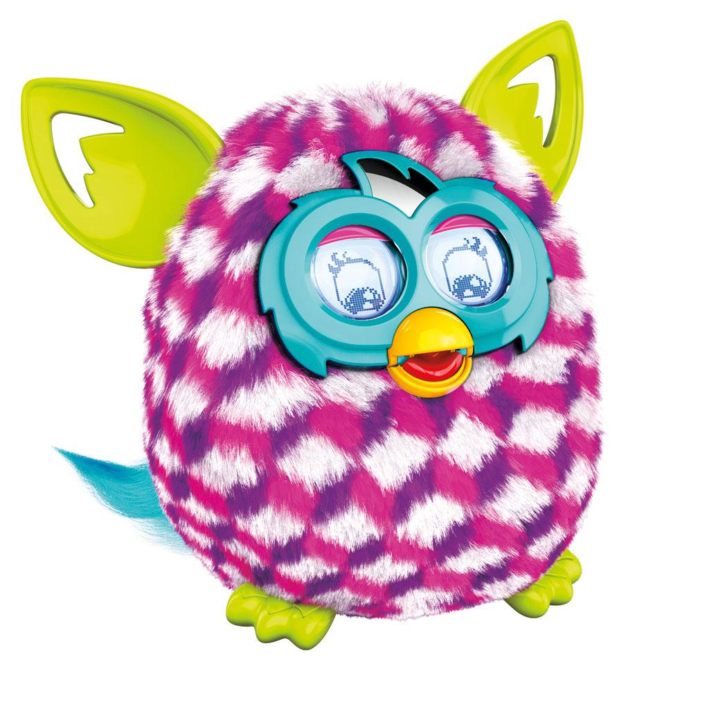 Furby Pink Cubes Boom Plush Toy iPod iPhone Interactive ...