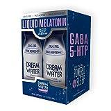Dream Water Natural Sleep Aid, GABA, MELATONIN, 5-HTP, 2.5oz Shot, Snoozeberry, 4 Count (Color: Snoozeberry, Tamaño: 4CT)
