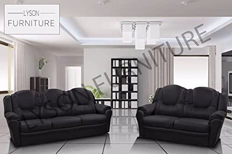 Brand New TEXAS Sofa Set Living Room Faux Leather (2 Seater)