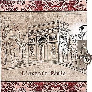 Tagebuch mit Schloss - Esprit Paris