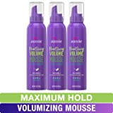 Aussie Mousse, with Bamboo & Kakadu Plum, Headstrong Volume, For Fine Hair, 6 fl oz, Triple Pack (Color: Volume Mousse (Pack of 3))