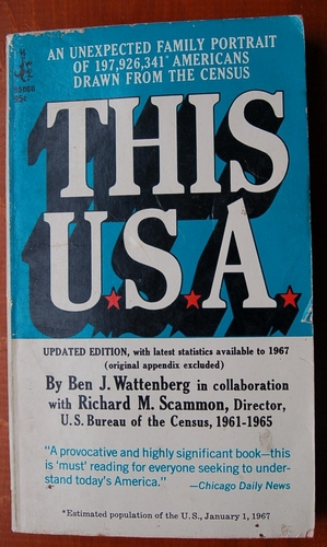 This Usa, Wattenberg, Ben J. and Scammon, Richard M.
