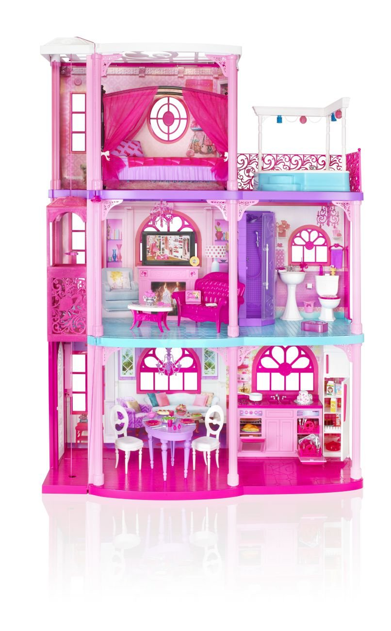 Barbie Pink 3 Story Dream Townhouse Review