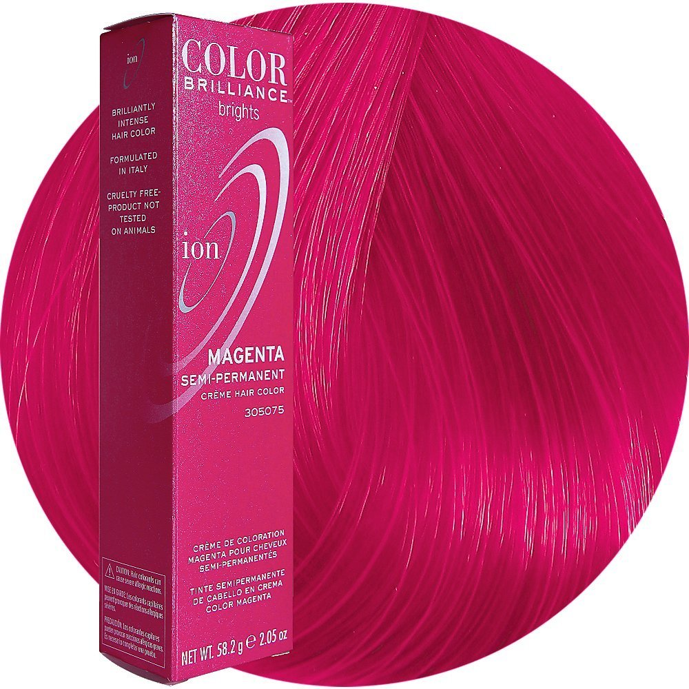 Ion Color Brilliance Brights Semi Permanent Hair Color Magenta