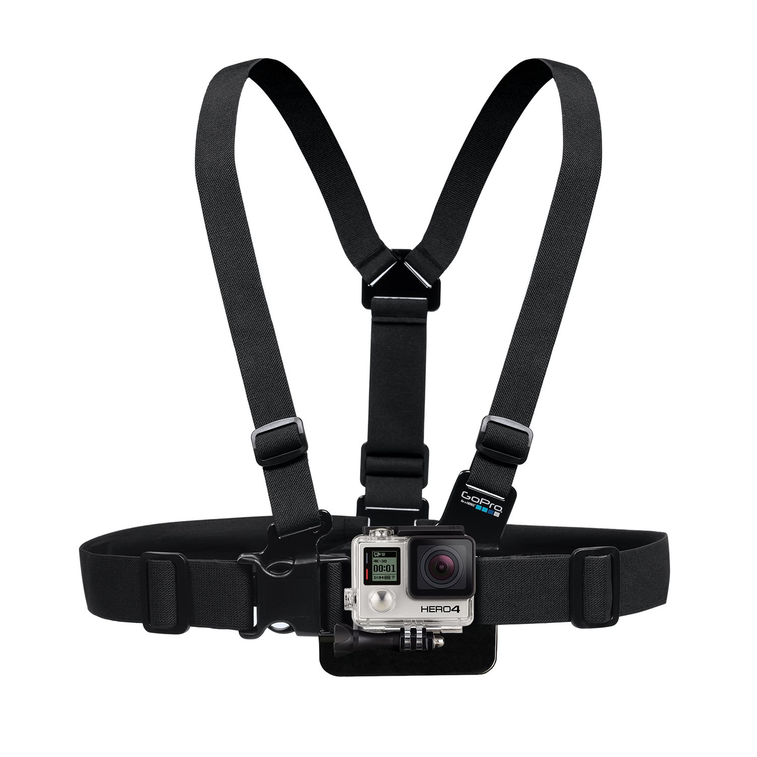 GoPro chest mount for motovlogging