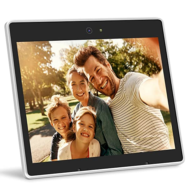 iHoment Wi-Fi Cloud Digital Photo Frame & Live Chat,9.7 Inch IPS ...