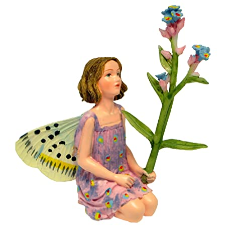 Miniature Fairy Garden Forget-Me-Not Fairy