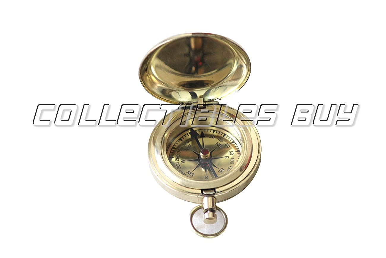 Nautical Collectible Retro Style Compass Decorative Gift Item Brass Finish Compass 4
