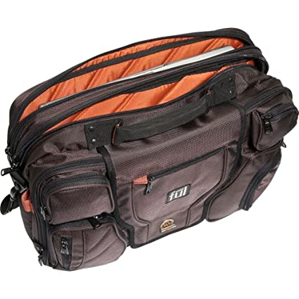 ful Unisex Adult Fearless Laptop Messenger Bag, top view
