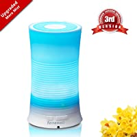 Tenswall Aroma Ultrasonic Essential Oil Diffuser Waterless Auto Humidifier