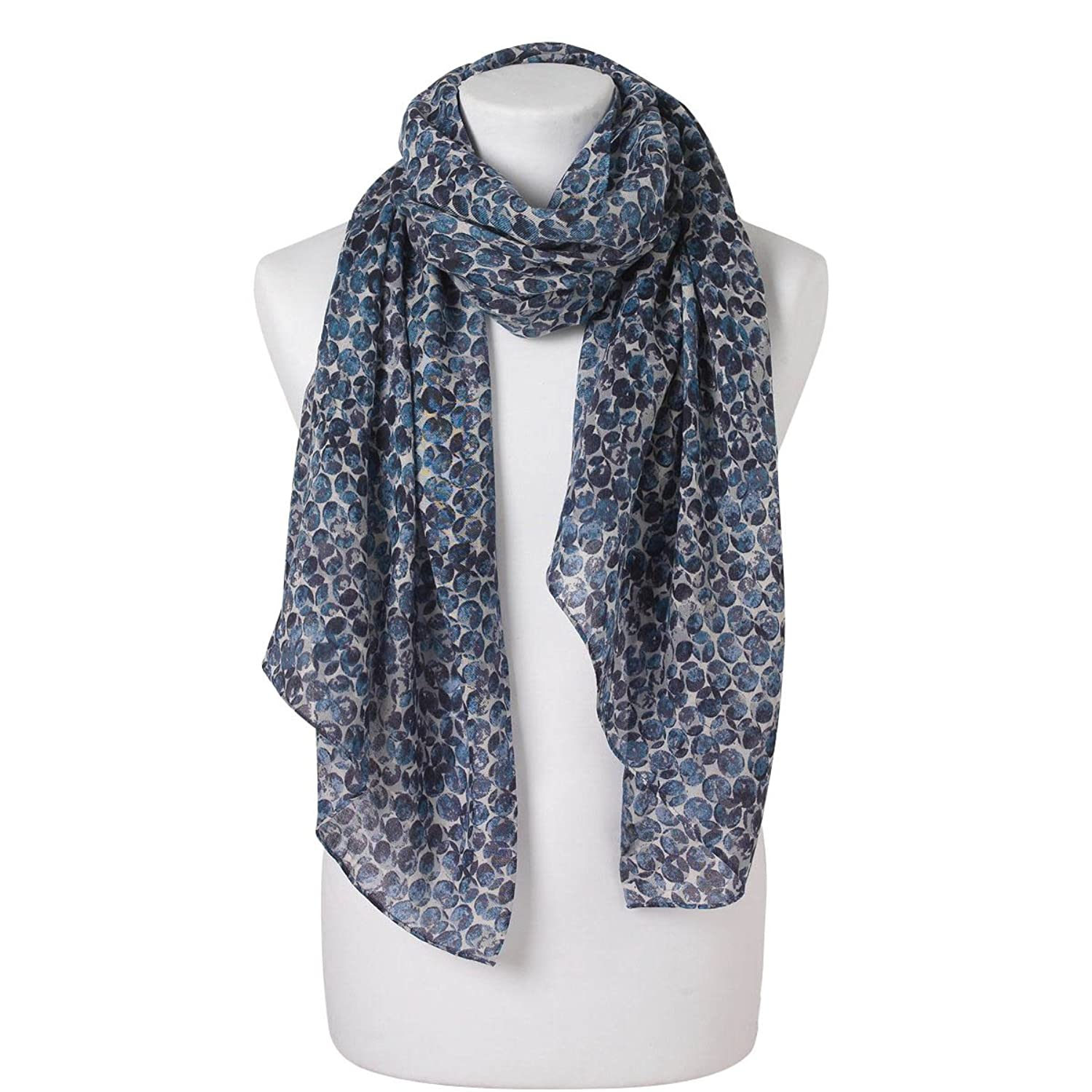 Marc O Polo Womens Circle Print Scarf