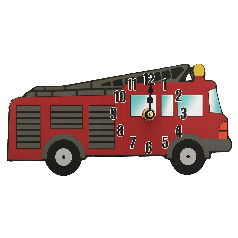 Kinder Duo Uhr, Feuerwehr Auto (One Size) (Feuerwehr Auto) günstig online kaufen