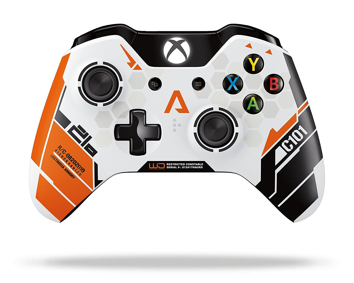 xbox one wireless controller   titanfall limited edition