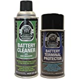 Throttle Muscle TM2548 - Battery Cleaner with Acid Indicator and Terminal Protector Package