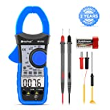 Digital Clamp Meter Multimeter HOLDPEAK HP-570C 4000 Counts Auto-ranging Multimeter with AC/DC Voltage&Current, Resistance, Capacitance, Frequency,Diode, Hz Test,NCV,Continuity Buzzer,Voltage Detect (Color: US-HP-570C(Without APP))
