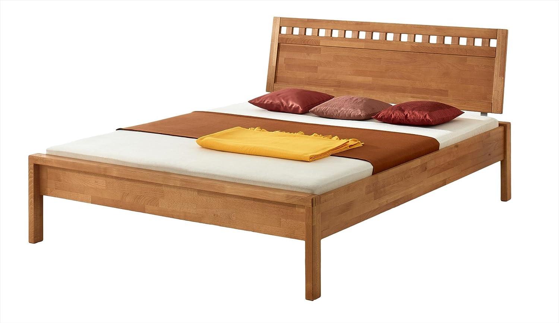 MS-Schuon Bett Fritz mit Kopfteil V Buche massiv, Oberfläche geölt – Grösse 180×200 günstig kaufen