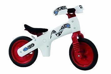 bellelli - bi-bip bicycle white red