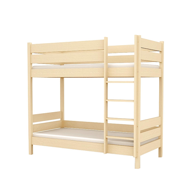 Kinderbett Etagenbett für Kinder Kinderzimmer BLUE LAGOON 107x208x180cm Holz natur L2 90/200 günstig bestellen