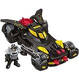 Imaginext DC Super Friends Legends of Batman Deluxe Batmobile,Black, Yellow (Color: Black, Yellow)