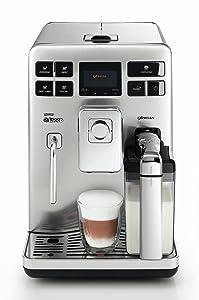 Saeco HD8856/01 Exprelia KaffeeVollautomat (1400 W, 15 Bar, 1, 6 l) EdelstahlBewertungen und Beschreibung