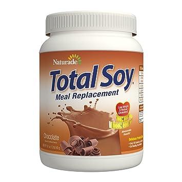 منتج يحتوي على الكثير من البروتينات والفيتامينات بنكهة الشوكولاته Naturade, Total Soy, Meal Replacement, Chocolate, 19.1 oz (5